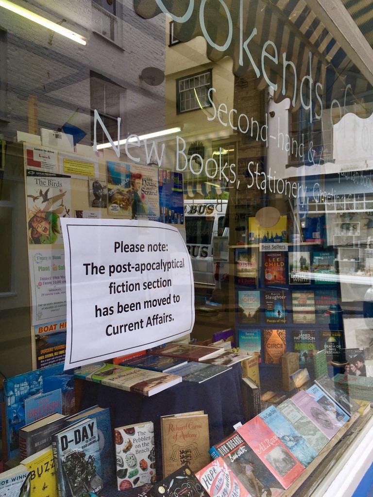 Buchladen in Fowey