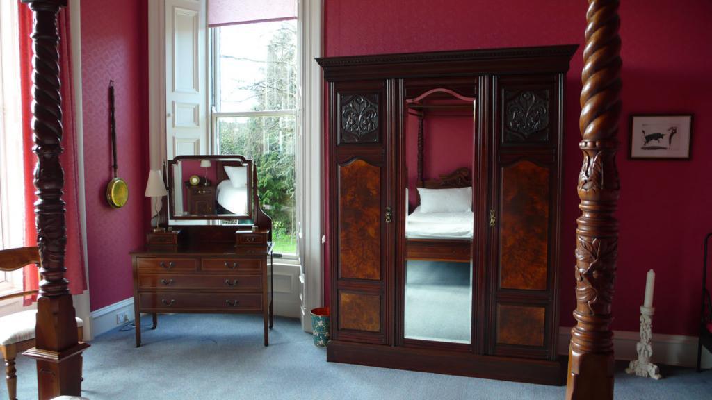 Viktorianischer Charme im Schlafzimmer, Fewo Old St. Michaels.