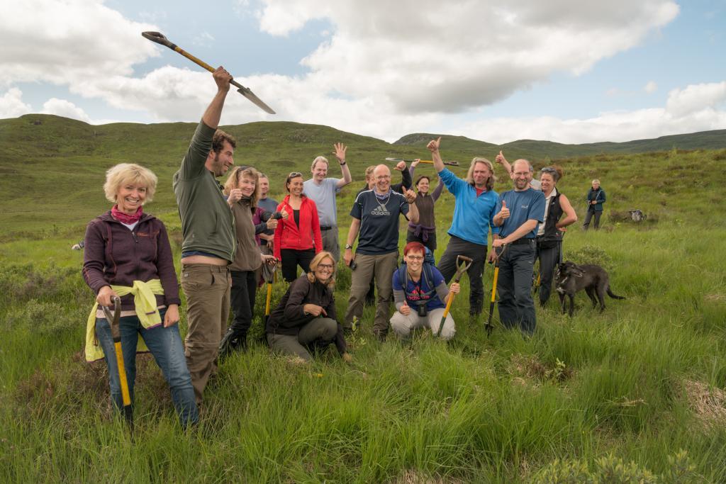 Wandern Schottland - wir pflanzen Bäume!