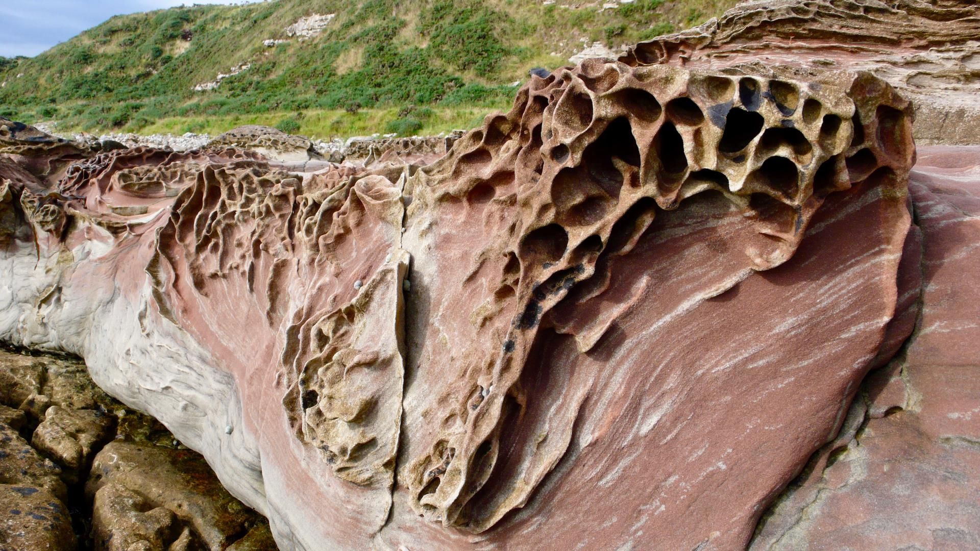 Sandstein bei Rockfield