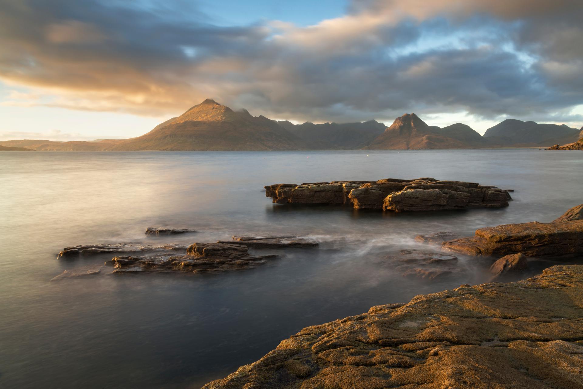 Letzte Sonnenstrahlen, Elgol, Skye Fotoreise