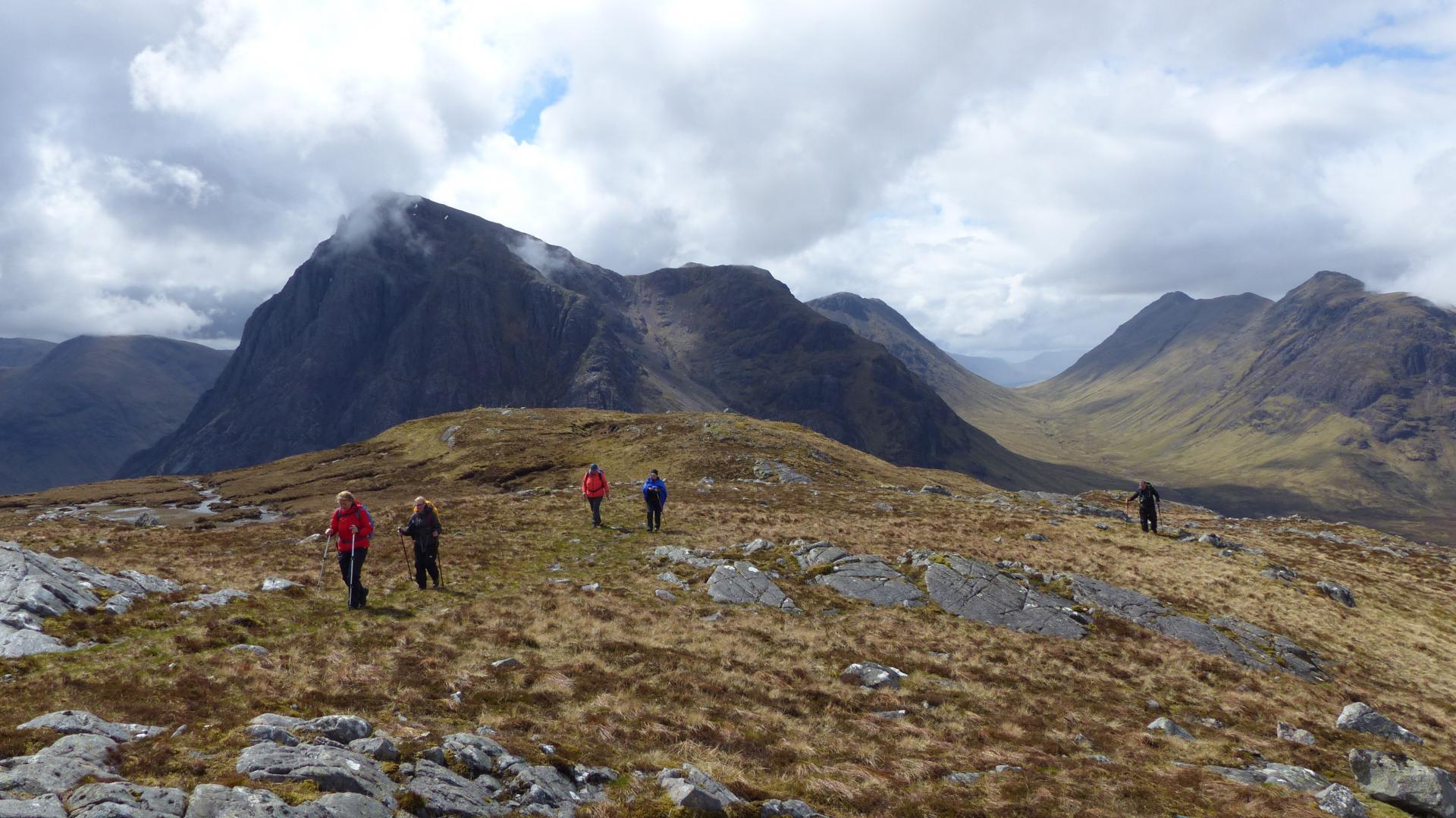 Wandern in Glencoe