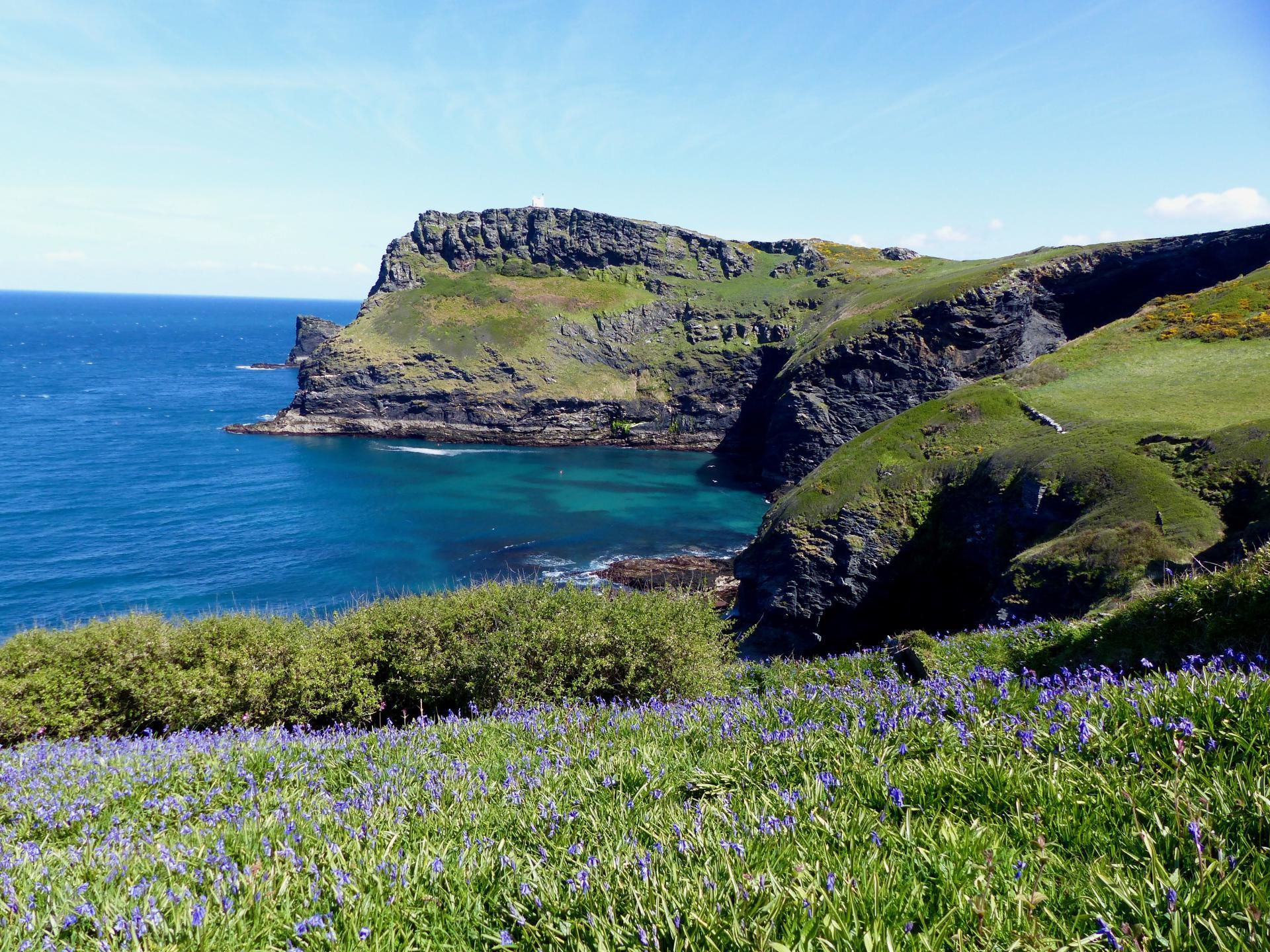 Cornwall Wanderreise - Boscastle Küste