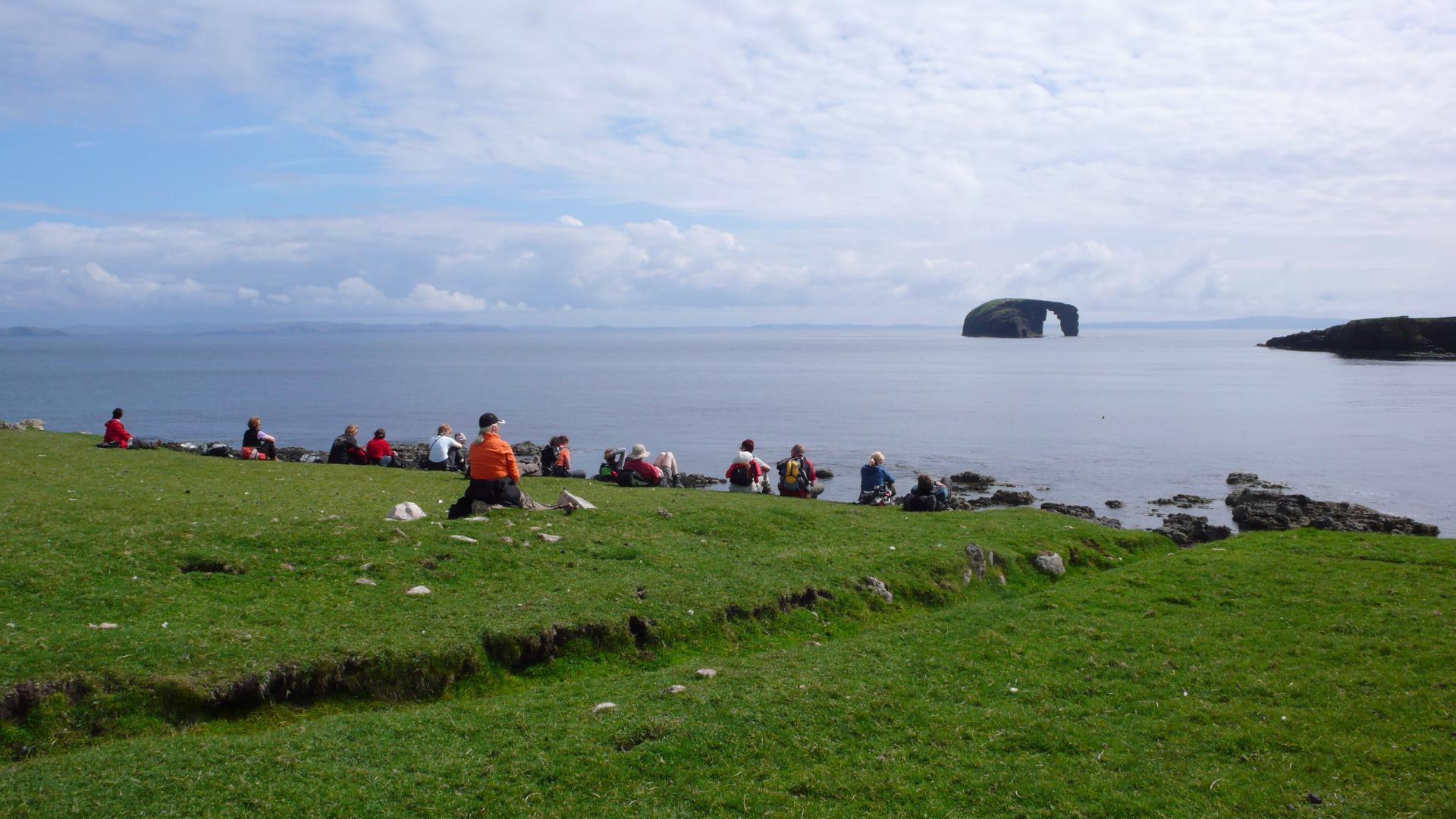Pause auf Shetland