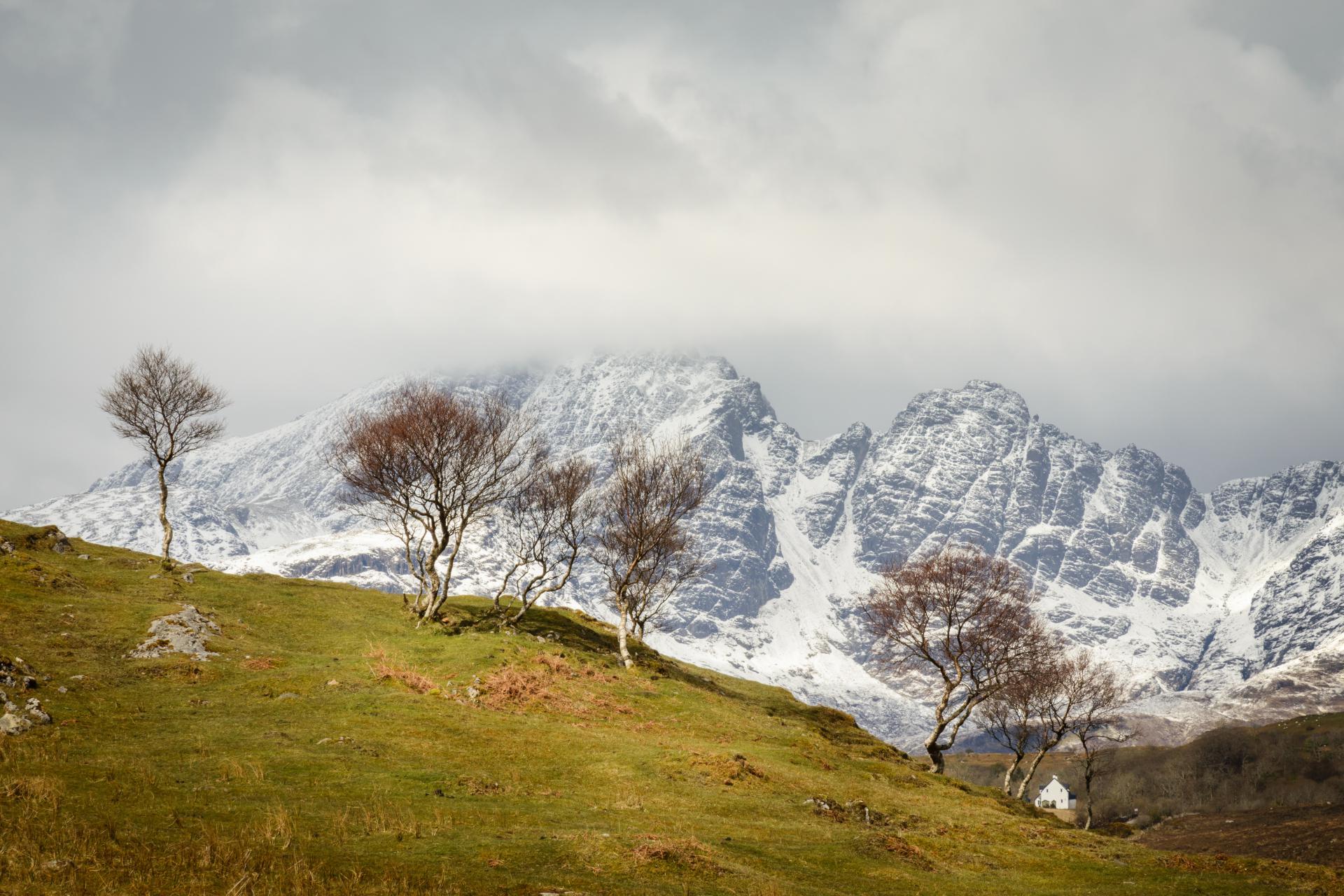 Blaven und Birken, Fotoreise Schottland