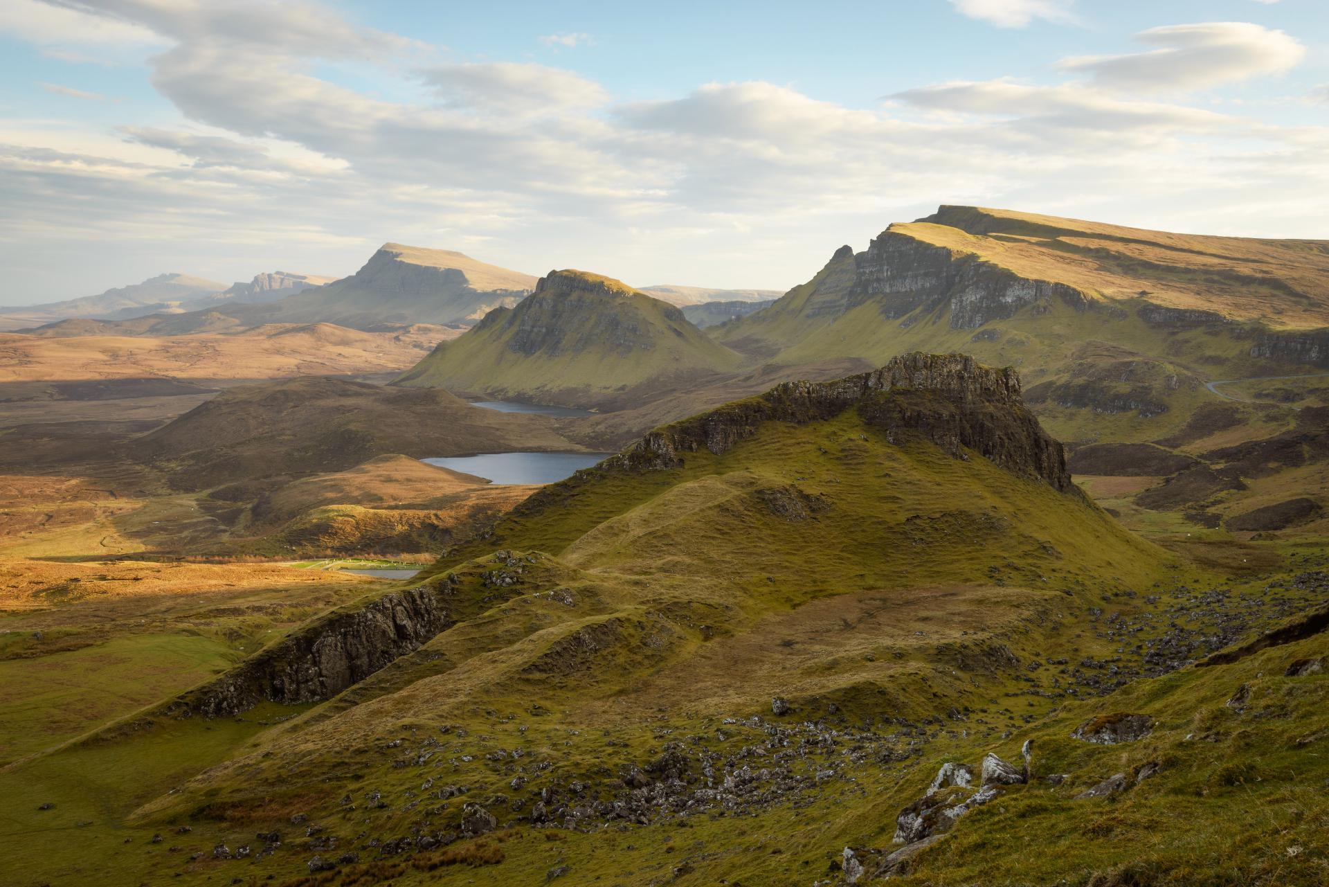 Abendlicht über dem Quiraing, Isle of Skye Fotoreise