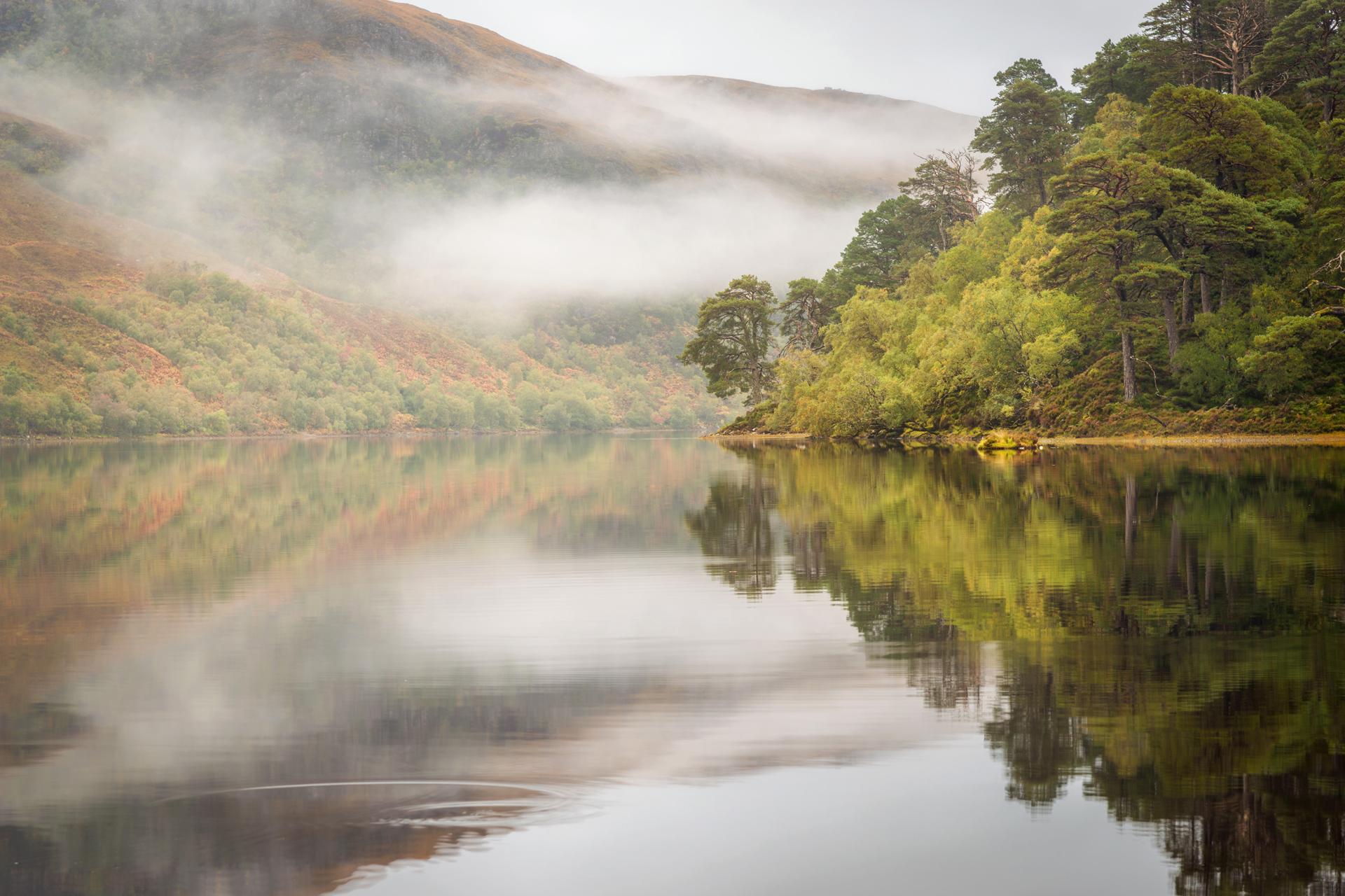 Herbstspiegelung, Torridon Fotoreise
