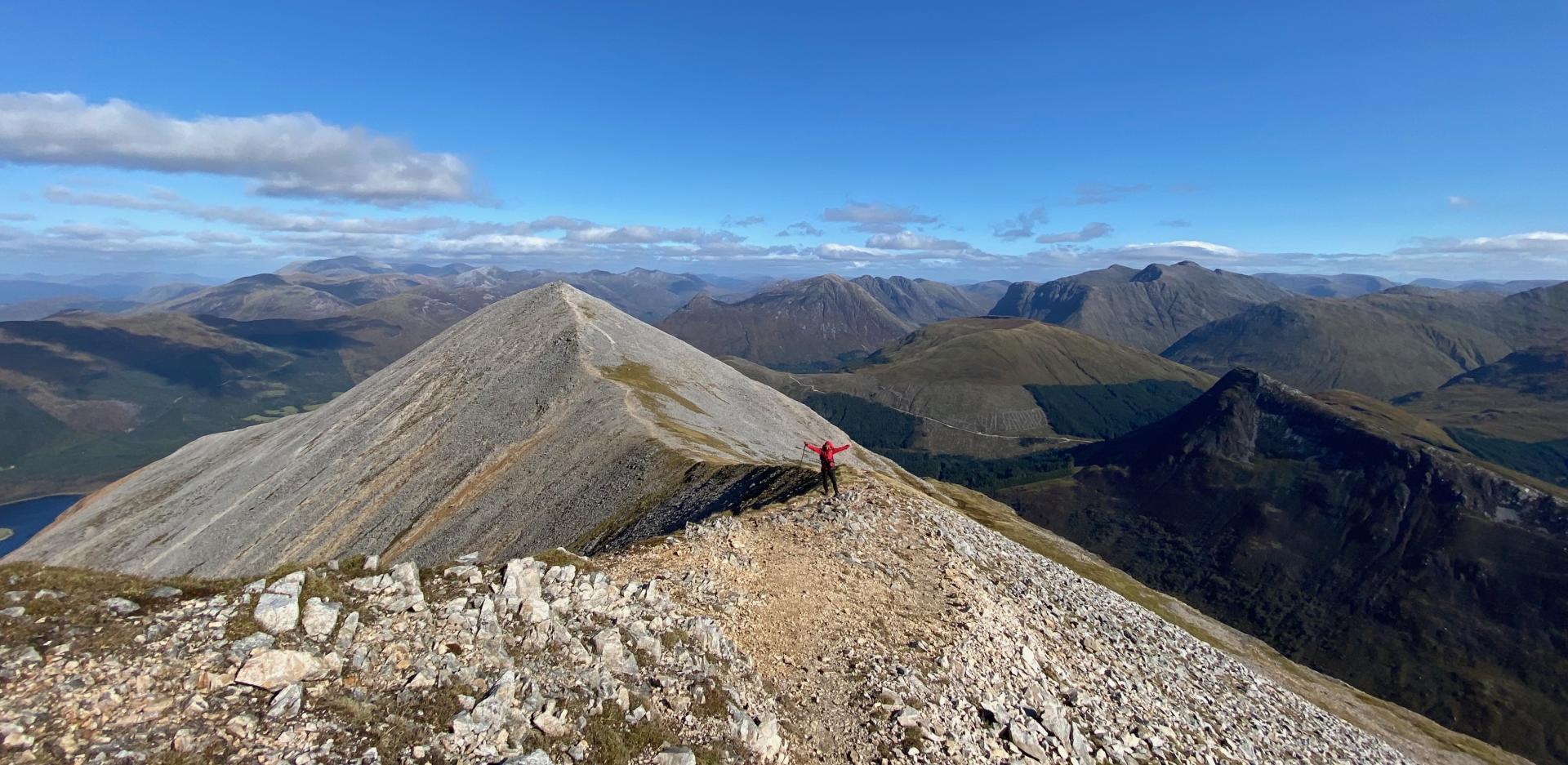 Wandern Schottland Covid-19 Reisekonzept
