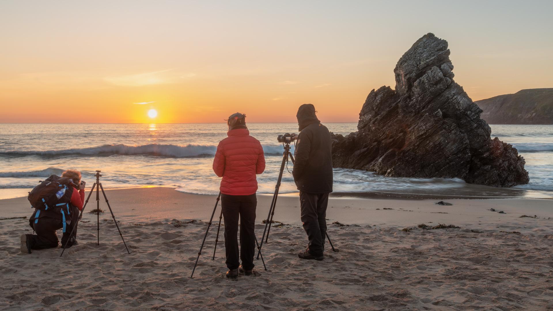Sonnenaufgang am Strand von Durness, Fotoreisen Schottland