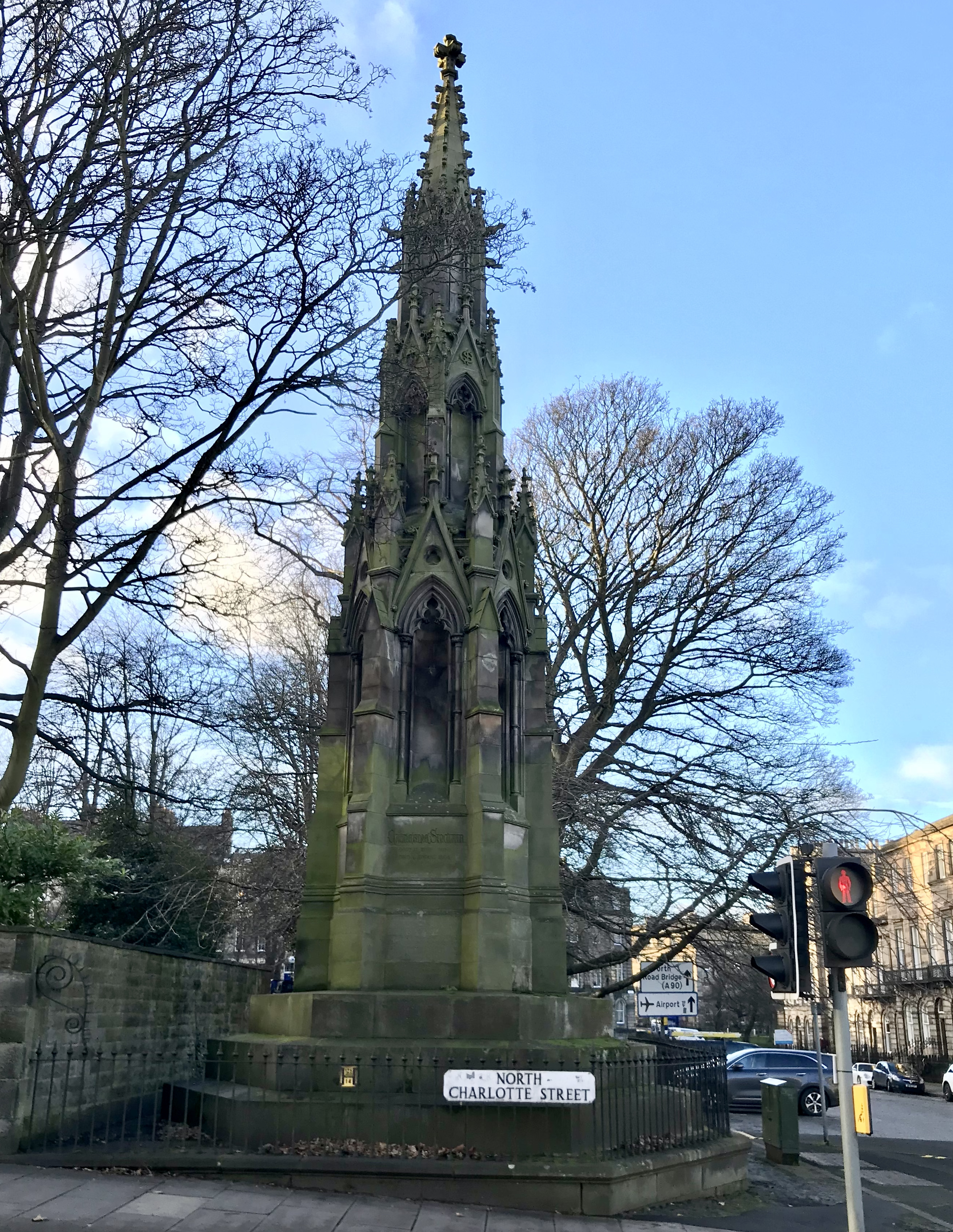 Catherine Sinclair Denkmal, Edinburgh