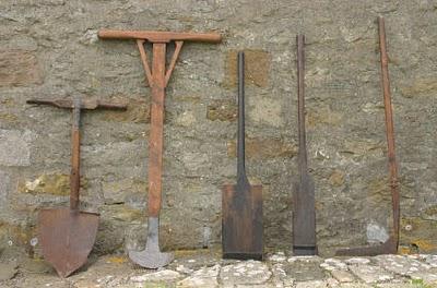 Torf Werkzeuge