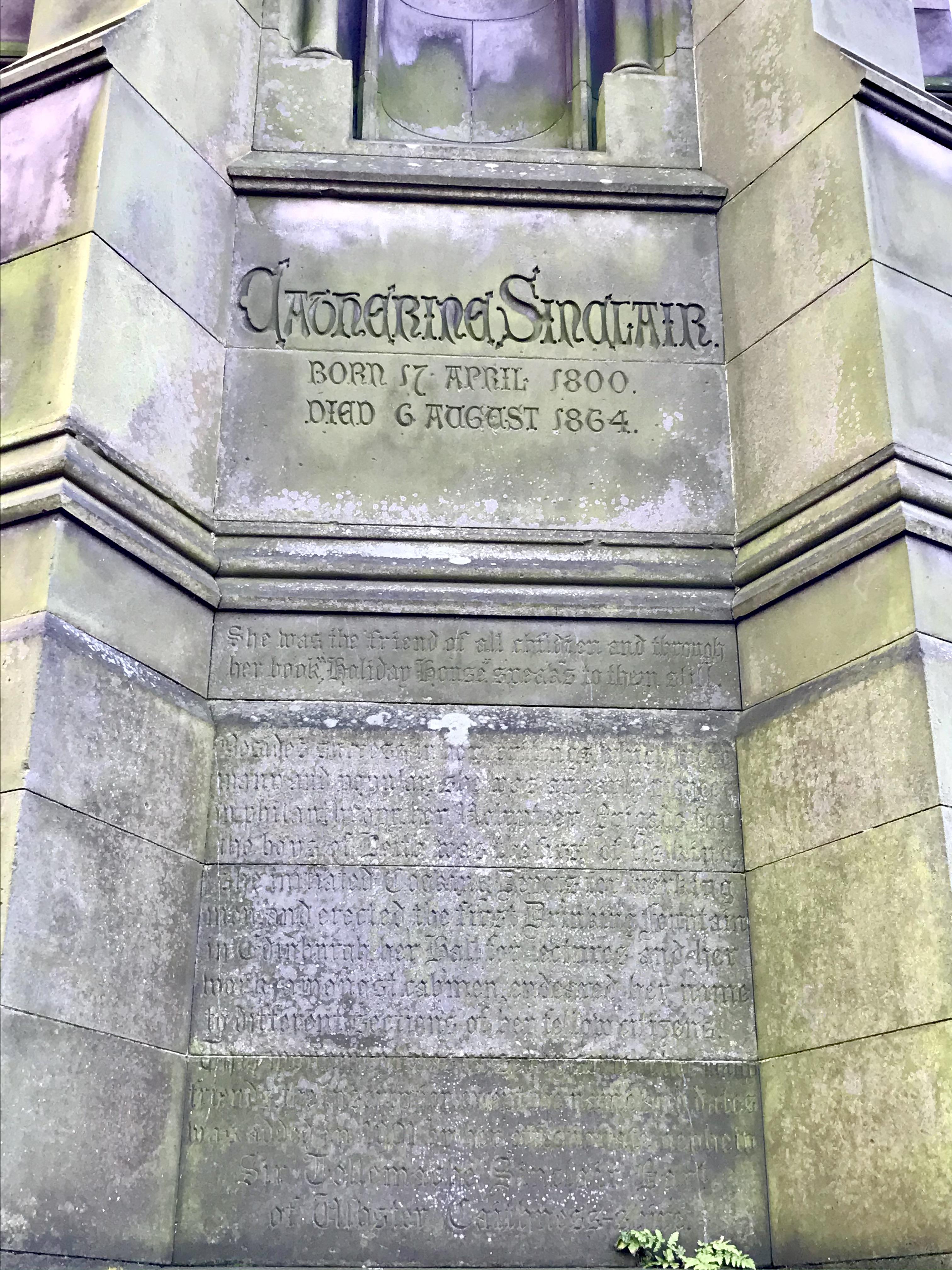 Catherine Sinclair 1800 - 1864