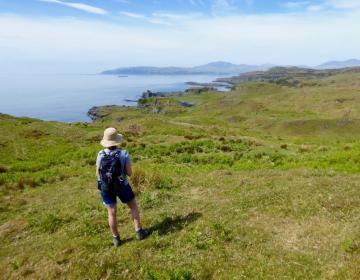 Insel Kerrera und Gylen Castle