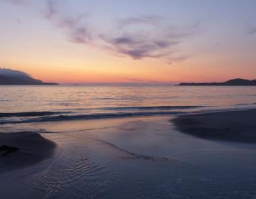 Das Wasser rauscht - Sonnenuntergang Balnakeil