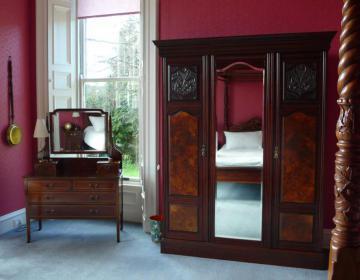 Viktorianischer Charme im Schlafzimmer