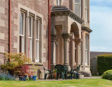 Der Eingangsbereich, Old St. Michaels Ferienwohnung, Schottland