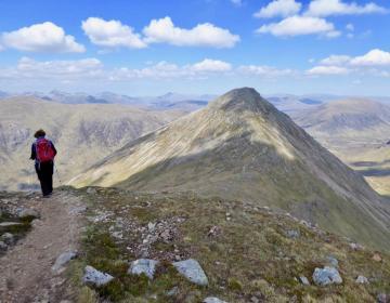 Gipfelgrat Buachaille Etive Beag