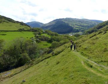 Wandern bei Abergynolwyn