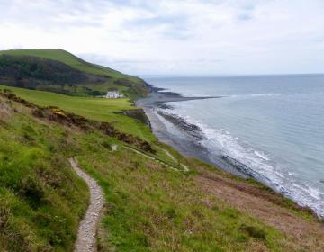 Küstenpfad bei Aberystwyth