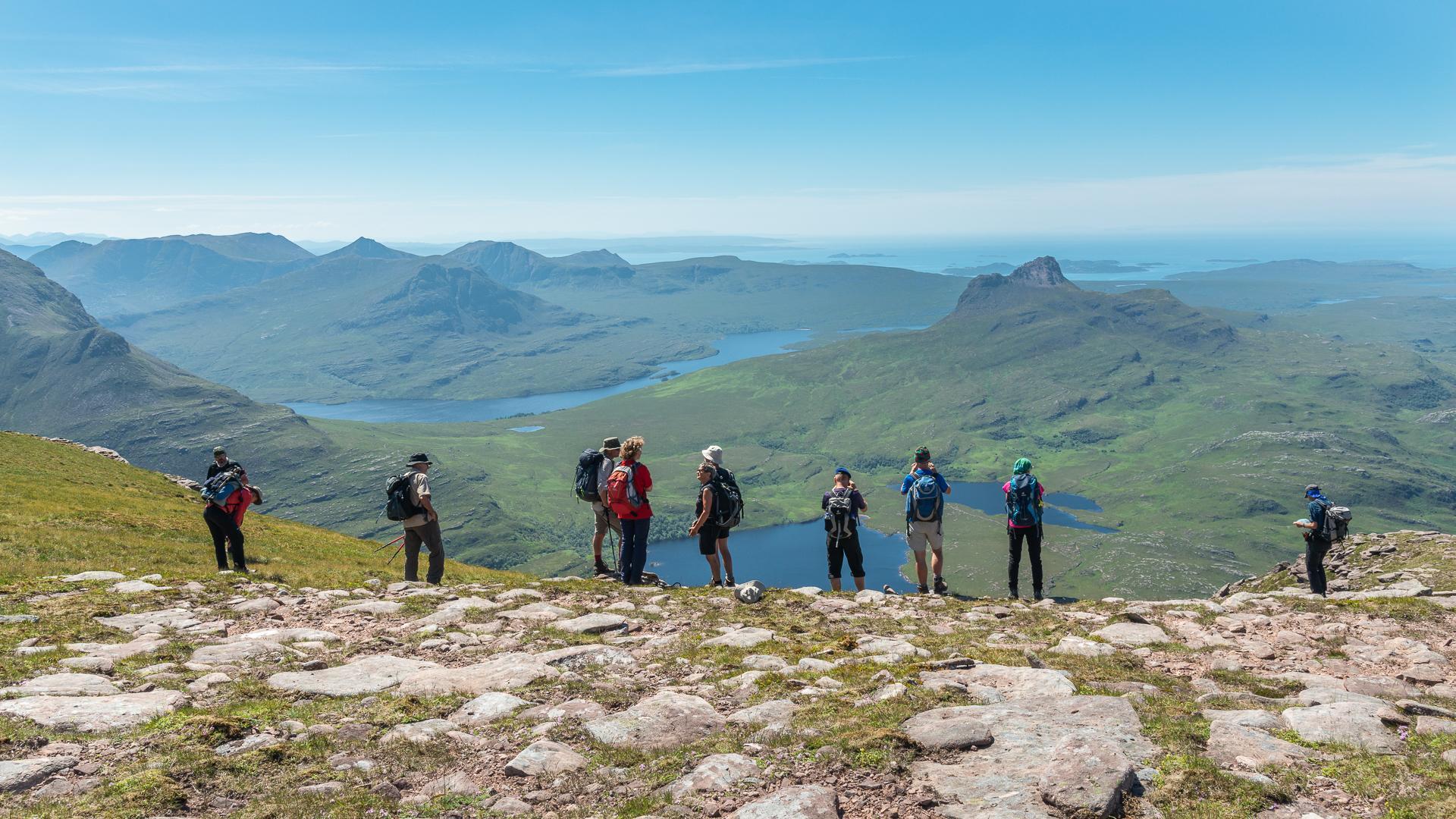 Wandern Schottland Saisonrückblick 2018