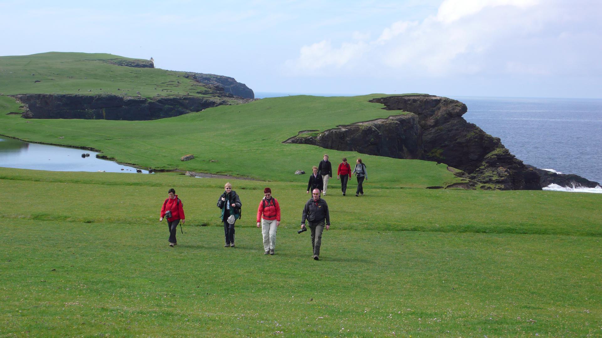 Shetland Wanderreise