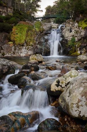 Wasserfall in Deeside