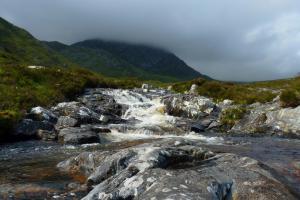 Wasserfall in Glen STrathfarrar