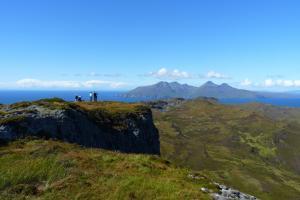 Gipfel An Sgurr, Eigg