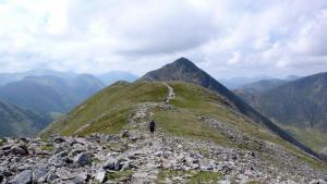 Glencoe Gipfelfgrat, Argyll Wanderreise