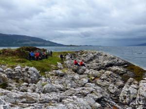 Küstenwanderung Loch Linnhe