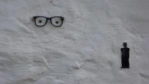 Kunst auf Hauswand