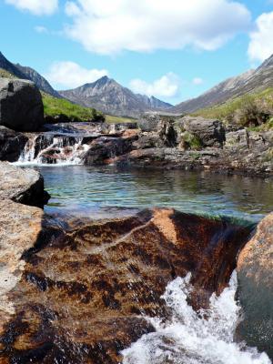 Glen Rosa Wasserfall