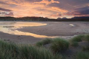 Rotes Morgengrauen, Achnahaird, Assynt Fotoreise
