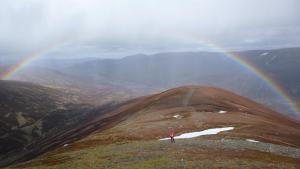 Regenbogen bei Drumochter
