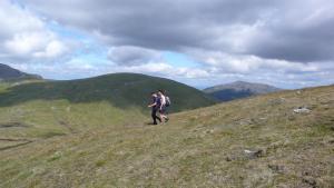 Wandern in den zentralen Highlands