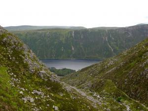 Loch Muick von oben