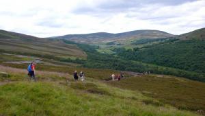 Typische Wanderung in Royal Deeside
