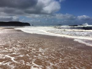 Sandwood bei Sturm