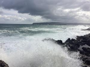 Sturm an der Nordküste