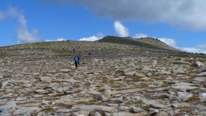 Gipfel Carn Cuinneag