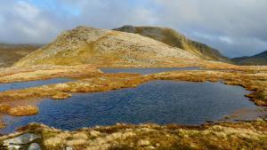 Kleiner See bei Eididh nan Clach Geala
