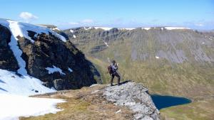 Bergwandern im Frühjahr