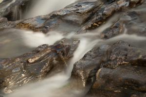 Glen Orchy Wasserfall Ausschnitt