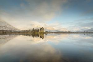 Sonnenaufgang bei Kilchurn Castle, Loch Awe, Glencoe Fotoreise