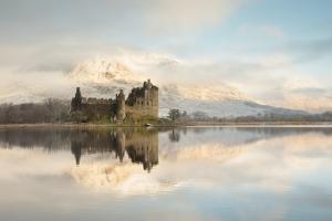 Sanftes Morgenlicht, Kilchurn Castle, Loch Awe