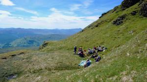 Wandergruppe Central Highlands