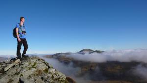 Gipfel Meall nan Tarmachan