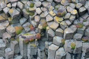 Nahaufnahme Basaltsäulen