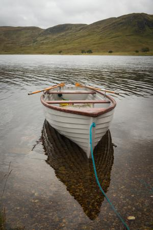 Fischerboot, Northwest Highlands