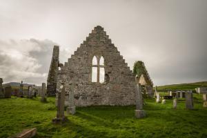 die alte Kirche von Balnakeil, Durness Fotoreise